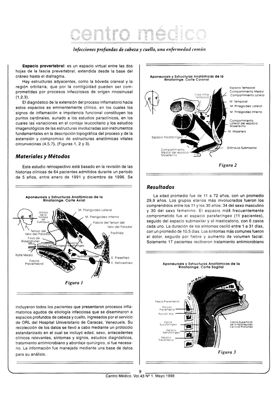 Infecciones profundas de cabeza y cuello. Una enfermedad común